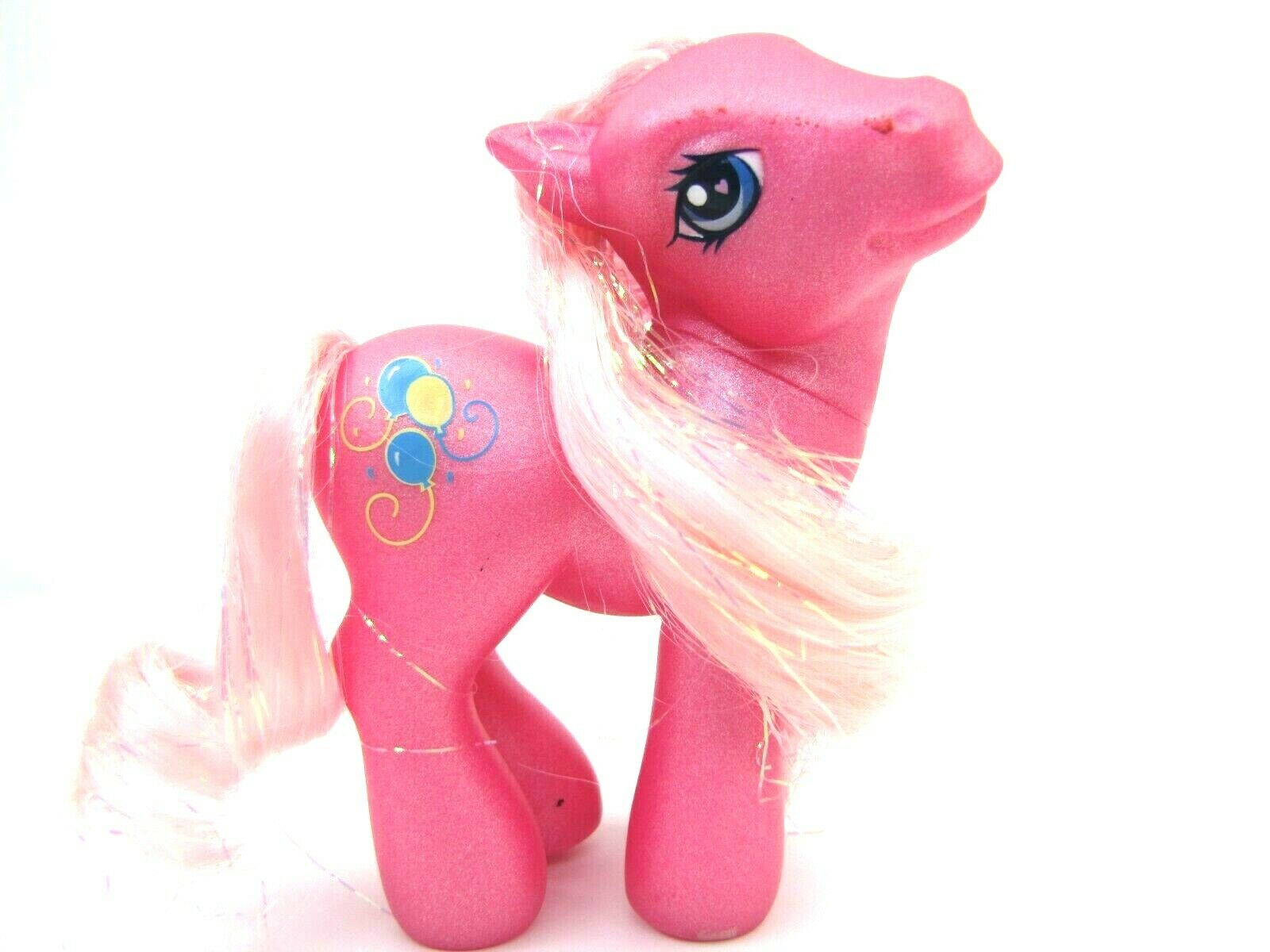 2003 My Little Pony Generation 3 Glitter Pony PINKIE PIE Diva Pose Very Nice
